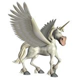 Fantasy unicorn 2 Stock Photo