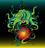 Fantasy universe Stock Image