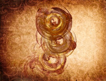 Fantasy vintage pattern for background Royalty Free Stock Photos