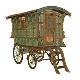 Fantasy wagon royalty free illustration
