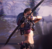 Fantasy warrior Stock Photo