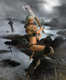 Fantasy Warrior 2 Stock Photos