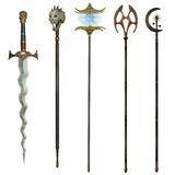 Fantasy weapons 2 Royalty Free Stock Photo