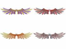 Fantasy Wings Stock Photo