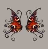 Fantasy Wings Royalty Free Stock Images