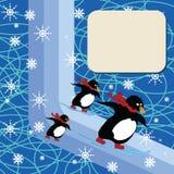 Fantasy winter royalty free illustration