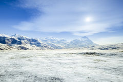 A fantasy winter scenery Royalty Free Stock Photo