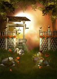 Fantasy Wishing Well Royalty Free Stock Photos