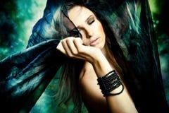 Fantasy woman royalty free stock image