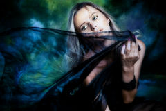 Fantasy woman Royalty Free Stock Images