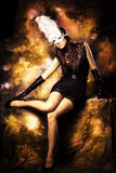 Fantasy woman Stock Photography