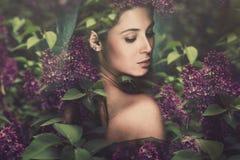 Fantasy woman stock photo