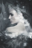Fantasy woman portrait Stock Photography
