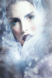 Fantasy woman portrait Stock Photo