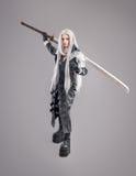 Fantasy woman warrior Royalty Free Stock Image