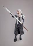 Fantasy woman warrior Stock Image