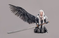 Fantasy woman warrior Royalty Free Stock Photography