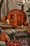 Fantasy world stock image
