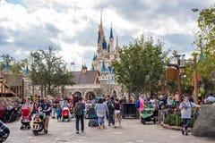 Fantasyland al regno magico, Walt Disney World Fotografia Stock Libera da Diritti