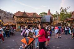 Fantasyland bij het Magische Koninkrijk, Walt Disney World Stock Foto