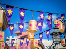 Fantasyland detail, Disney World. Stock Images