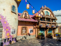 Fantasyland, Disney świat Obrazy Royalty Free