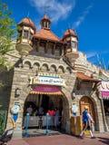 Fantasyland Disney värld Royaltyfria Bilder