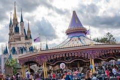 Fantasyland am magischen Königreich, Walt Disney World stockbilder