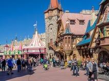 Fantasyland, monde de Disney Image libre de droits