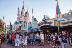 Fantasyland på det magiska kungariket, Walt Disney World Fotografering för Bildbyråer