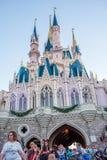 Fantasyland på det magiska kungariket, Walt Disney World Royaltyfria Foton