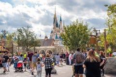 Fantasyland på det magiska kungariket, Walt Disney World Royaltyfri Fotografi