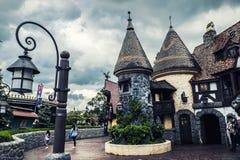 Fantasyland a Parigi Disneyland Fotografie Stock Libere da Diritti