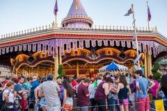 Fantasyland przy Magicznym królestwem, Walt Disney świat Obraz Royalty Free