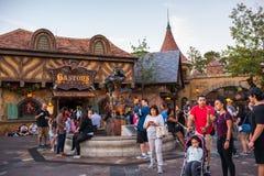 Fantasyland przy Magicznym królestwem, Walt Disney świat Zdjęcie Royalty Free