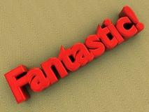 fantatstic logo för matta Arkivbilder