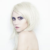 fantazi damy makeup Obraz Stock