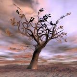 Fantazi drzewo - 3D odpłacają się Fotografia Stock