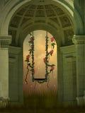 Fantazi huśtawka Zdjęcie Royalty Free