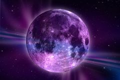 Fantazi Księżyc royalty ilustracja