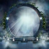 Fantazi magii portal Zdjęcie Stock