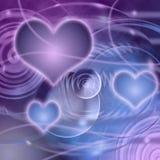 fantazi miłości planeta Obrazy Royalty Free