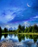Marzycielski krajobraz Zdjęcie Royalty Free