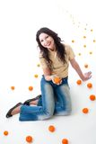 fantazi tangerine Fotografia Royalty Free