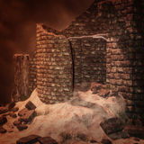 Fantazi wierza, 3D CG royalty ilustracja