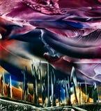 fantazja abstrakcyjna Obrazy Royalty Free