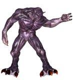 fantazja duży potwór ilustracja wektor