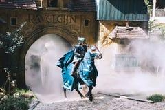 Fantazja o temacie parkowy Efteling w holandiach zdjęcie royalty free