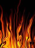 fantazja ogień Zdjęcia Stock