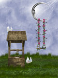Fantazja ogród ilustracji